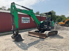 2012 Bobcat E50 Hydraulic Mini Excavator With 3rd Valve Backfill Blade Only 3400hr