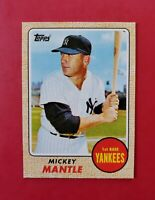 2010 Topps *Cards Your Mom Threw Out* #CMT-17 MICKEY MANTLE (Yankees) (NM-MT)