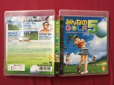 PS3 EVERYBODY'S GOLF 2007 CHINESE MANUAL PLAYSTATION game FREE POSTAGE