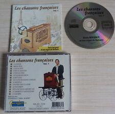 CD LES CHANSONS FRANCAISES DENIS BERGEROT ET SON ORGUE DE BARBARIE 14 TITRES