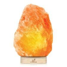 Himalayan Rock Salt Lamp - 100% Natural Hand Carved Pink Sea Salt Crystal -(5lb)