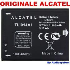 BATTERIA 1400Mah ORIGINALE PER ALCATEL ONE TOUCH OT T'POP 875 4010D tli014a1