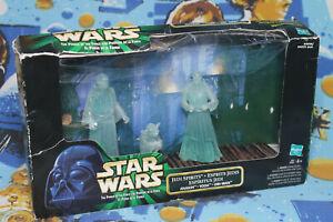 Hasbro Star Wars Power of the Force Jedi Spirits Anakin Yoda Obi Wan DAMAGED