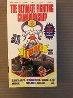The Ultimate Fighting Championship Return Of The Beast VHS Ken Shamrock Royce Gr