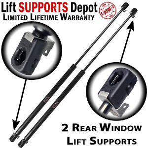 Qty 2 Jeep Wrangler 1987 to 1996 Rear Window Lift Supports - Factory Hardtop