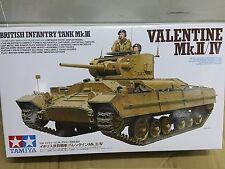 Tamiya 1/35 British Infantry Tank Mk.III Valentine Mk.II/IV Model Kit #35352