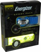 Energizer Sport Pack Head Light Torch LED Armband Cycle Run Jog Walk Camping