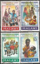 MALAWI 1996 SG#957-60 CHRISTMAS COMPLETE USED SET 2899