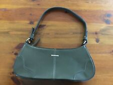 DIANA FERRARI - LADIES HANDBAG - OLIVE - AS NEW - ELEGANT