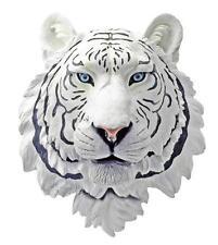 DWK Corporation White Tiger Head Hanging Statue