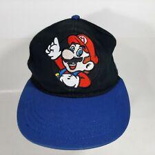 Nintendo Mario Boys Ball Cap Snapback Embroidered Multicolor Cotton