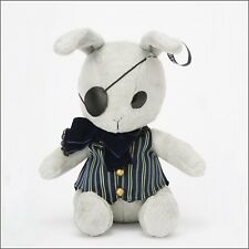 "Black Butler Label Funtom Bitter Rabbit Plush 9.44"" 24cm Kuroshitsuji 2017 ver."