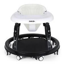 Fascol Lauflernwagen Babyschaukel Gehfrei Gehhilfe Laufhilfe Baby Walker Schwarz