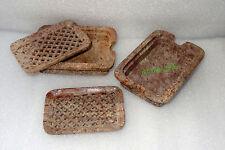 Marble Soap dish 2pcs Handmade Bathroom/washroom accessories Decor Gift