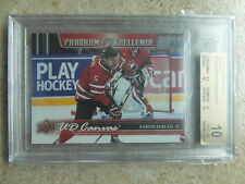 14-15 UD RC C268 Canvas POE Program Of Excellence Graded BGS 10 AARON EKBLAD
