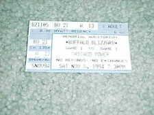 1994 NPSL Soccer Ticket Buffalo Blizzard v Chicago Power 11/5 Game 1