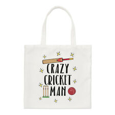 Crazy Cricket Man Regular Tote Bag Funny Shopper Shoulder