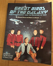 More details for star trek - great birds of the galaxy book - gene roddenberry / kirk / picard