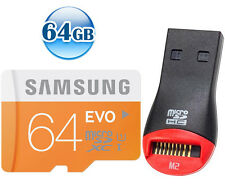 SAMSUNG CLASS10 microSDXC EVO 64GB 64G micro SD micro SDXC Memory Card 48MB/s* +