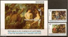 Equatorial GUINEA ECUATORIAL Edifil #162/164 ** MNH Pintura Painters