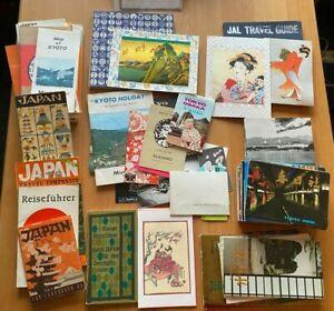 Sammlung Prospekte und AK einer Reise nach JAPAN im Jahre 1983