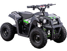 Kids Four Wheeler ATV 500W 36V Black Electric Battery Ride On Mini Quads Toy