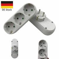 Dreifachstecker Mehrfachstecker Steckdosen Adapter Verteiler Leiste Multistecker