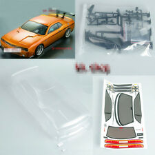 RC 190mm 1:10 PC BODY SHELL For Dodge viper SRT8 Car W/decal Transparent