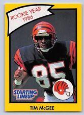 1990 Tim McGee - Starting Lineup Card - Slu - Cincinnati Bengals - (Yellow)