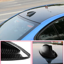 Carbon Car Shark Fin Aerial Antenna Roof Radio AM/FM Signal For Ford VW BMW Polo