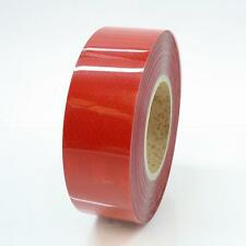 Reflective Tape 50mm X 5m Red Thick Honeycomb Truck Caravan Trailer Chassis