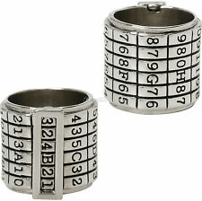 """COSIMA Orphan Black DNA Product ID Code Ring """"324B21"""" SIZE 7 Hot Topic EXC. NEW"""
