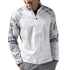 Reebok one series viento Jacket señores de ejecución chaqueta cazadora Train chaqueta deportiva Weiss