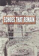Echoes That Remain DVD VIDEO MOVIE Jewish shtetl life rare archival photographs