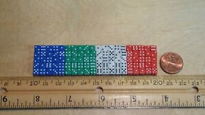 5mm Dice in Four ( *individual ) Colors - 50, 100, 200 count