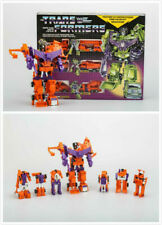 Transformers Orange Devastator Decepticons G1 Reissue Robot Christmas Gift New