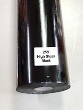 Hot Stamping Foil, 259.  24 In x 1000 Ft. High Gloss Metallic Black , PROPIUSA