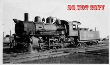 6G500A RP 1940/50s CHICAGO & NORTH WESTERN RAILROAD ENGINE #2156 MANITOWOC WI