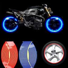 18 in (environ 45.72 cm) 16 bandes réfléchissantes moto auto Rim Stripe roue décalque bande autocollants