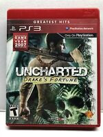 Uncharted: Drake's Fortune (PlayStation 3, 2007) Greatest Hits - Complete Tested