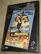 Abbott and Costello Meet the Mummy (DVD, 2001), NEW & SEALED, REGION 1, FUNNY!