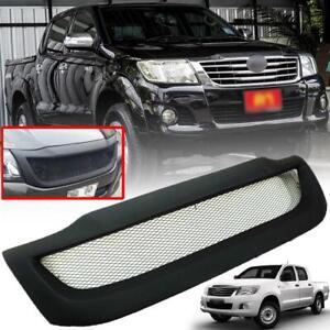 Front Grill Grille Black Net For Toyota Hilux Vigo KUN Champ Mk7 12 13 14 15