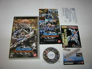 Gundam Battle Universe Playstation Portable PSP Japan import US Seller
