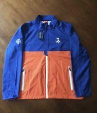 2020 PGA Championship Full Zip Jacket Medium Polo Ralph Lauren Blue Orange SF