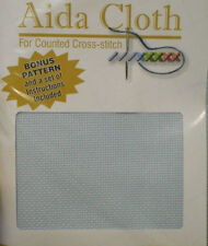 Cotton Blue Aida Cloth Cross Stitch Fabrics