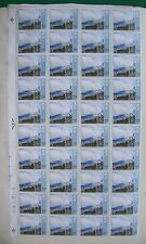 GB 1971 7.5p stamps SG 882, Ulster '71 Paintings, block of 40 (4x10), MNH
