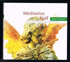 MÉDITATION NOËL - PIANO, ORGUE, TROMPETTE, SAXOPHONE & KORA - 20 TITRES - NEUF