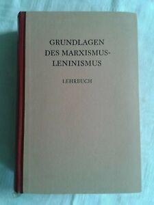 Grundlagen des Marxismus-Leninismus, Lehrbuch 1960