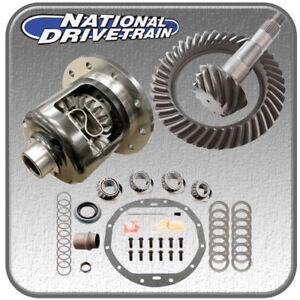 RING AND PINION, BEARING INSTALL KIT & NEW POSI - GM 12 BOLT CAR - 4.11 RATIO