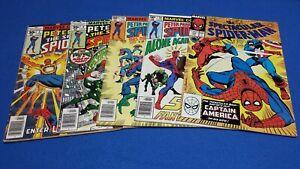 Spectacular Spider-Man 3 4 40 50 138 reader lot Marvel comics